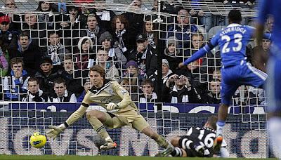 Newcastle United 0 - 3 Chelsea (3)