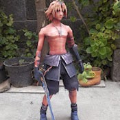 Final Fantasy - Tidus Papercraft Model