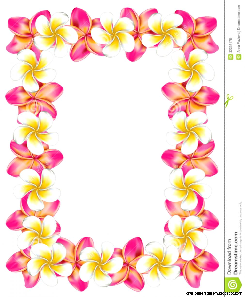 Hawaiian Frames Clipart