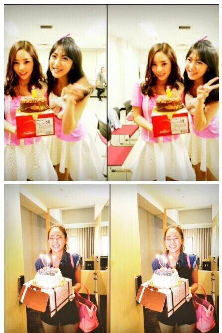 KARA celebrates Seungyeon's birthday and Hara & Jiyoung's 5th anniversary