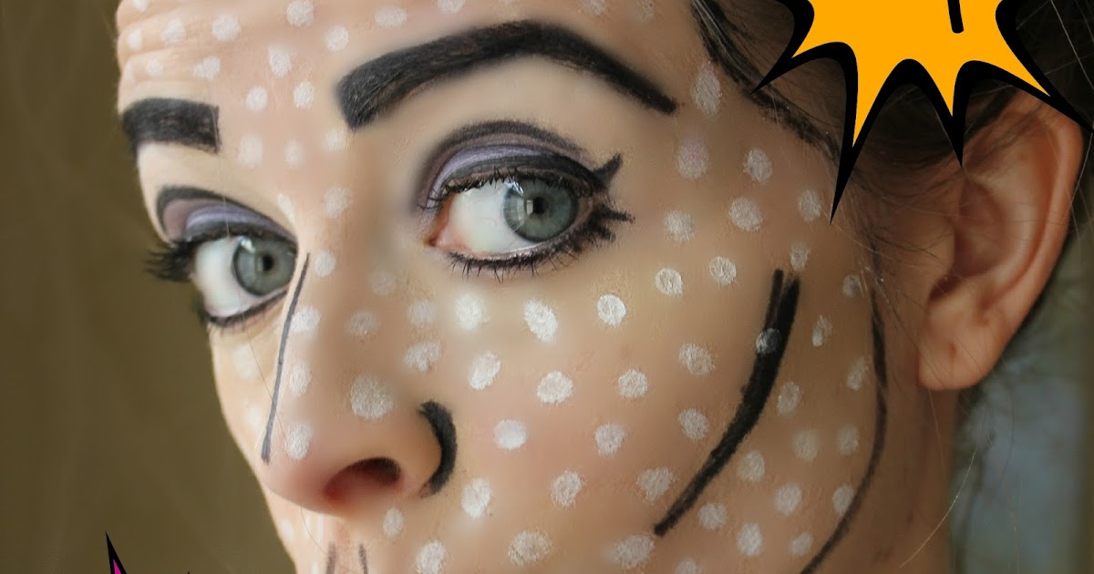 Tutoriais do pop art halloween cracked
