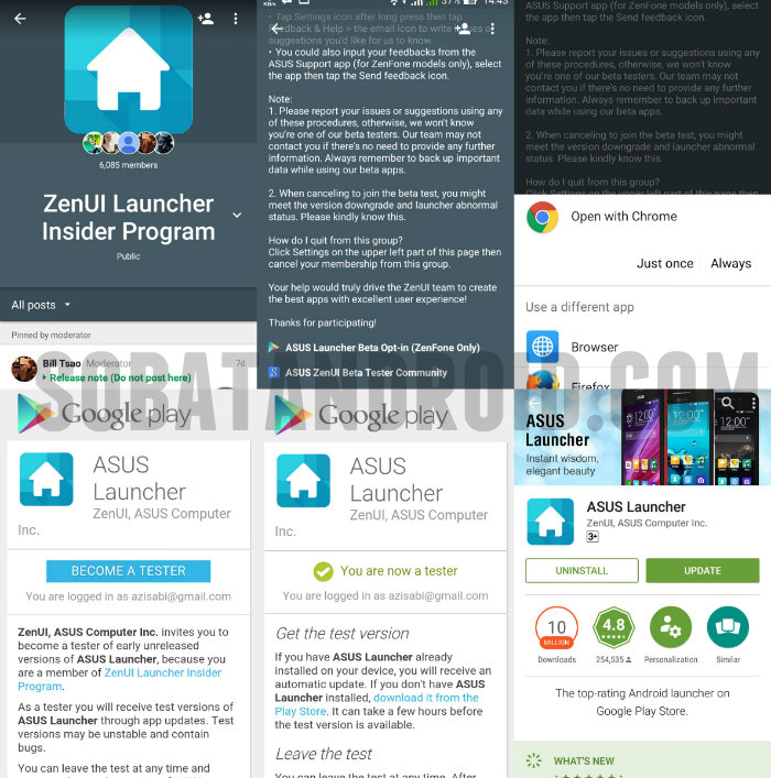 Download ASUS Launcher Beta Apk