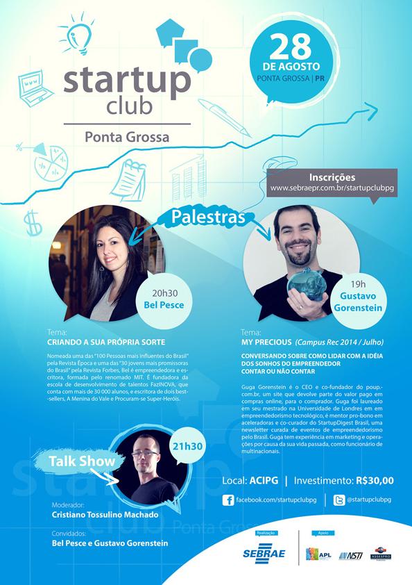 Quer empreender? Participe do Startup Club Ponta Grossa