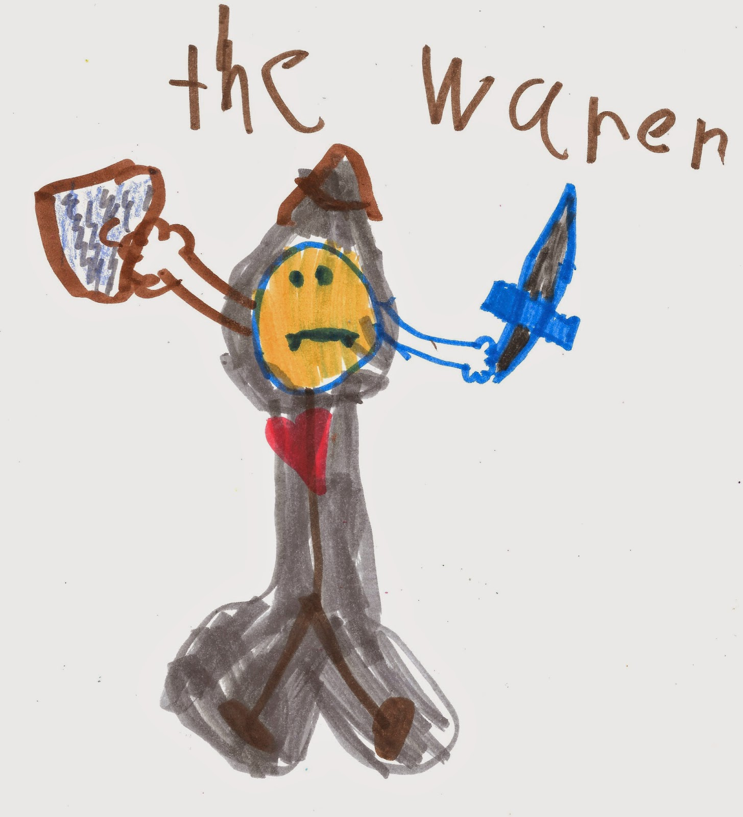 """Warrior Scandal: Drawn To The 80's: """"The Warrior"""" Scandal, 1984"""