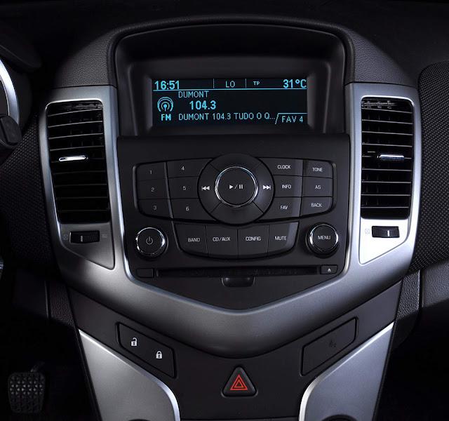 Chevrolet Cruze Sport - GPS