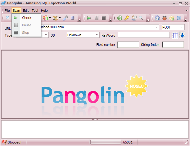 Pangolin 3.2.3 - Automatic SQL injection penetration testing tool ...