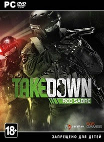takedown red sabre pc cover Takedown Red Sabre RELOADED