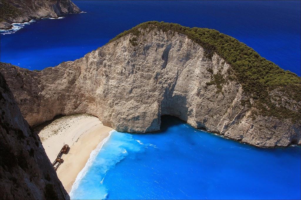 La Bahía del Náufragio – Grecia