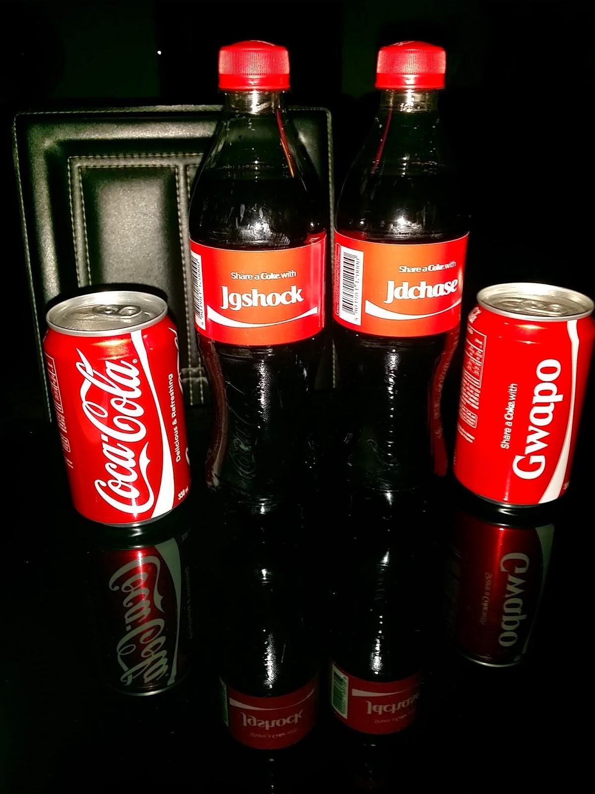 personalized coke machine