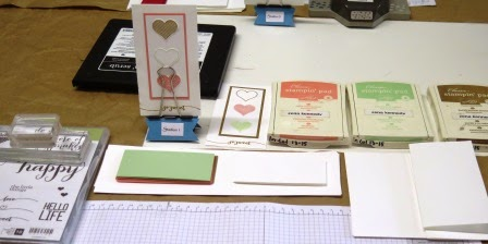 Occasionals Catalogue Launch Station one Zena Kennedy independent Stampin up demonstrator