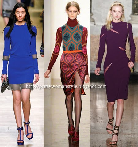 Плетени рокли с прозрачни детайли