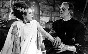 "Bride of Frankenstein: ""Honestly? I think I'm having second thoughts."""
