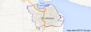 peta surabaya