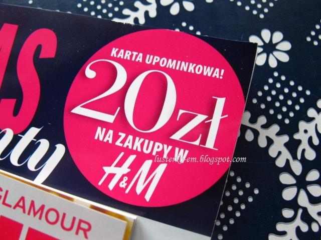 Lusterko Blog Karta H M O Wartosci 20 Zl W Najnowszym Numerze Glamour