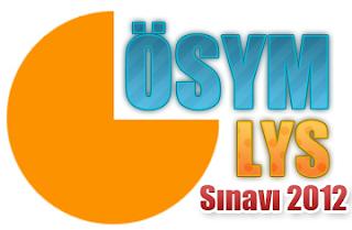 2013 LYS Sınav Tarihi