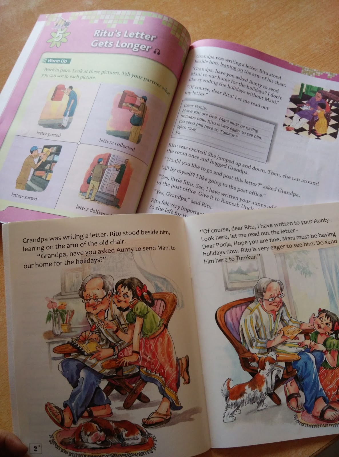 Pratham books june 2015 the book in the background is the coursebook with new illustrations fandeluxe Choice Image