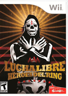 Lucha Libre AAA Héroes Del Ring WII NTSC Spanish