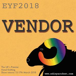 I'm a Vendor at EYF 2018!