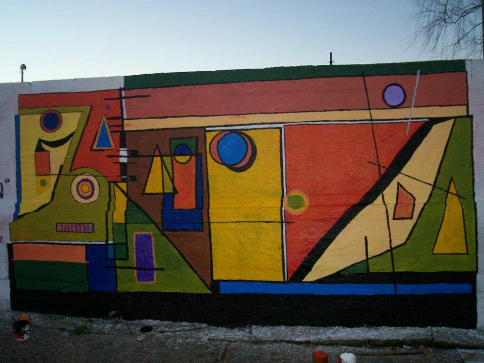 Arte en la escuela intervenciones artisticas proyecto for Arte colectivo mural