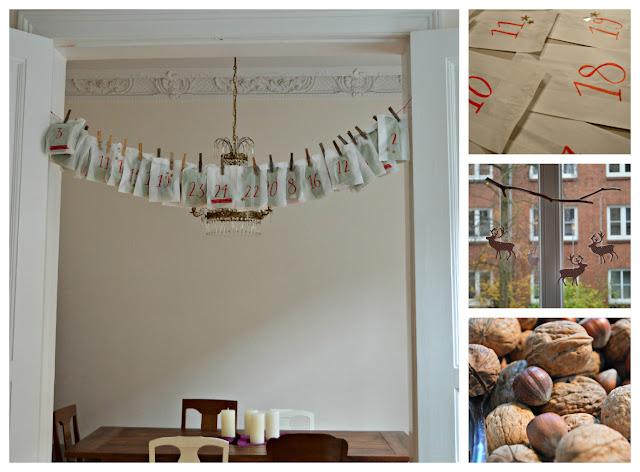 Collage Adventskalender selbstgemacht