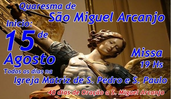 Quaresma de S. Miguel Arcanjo