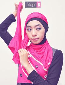 Itulah cara-cara Memakai Jilbab Casual yang mudah untuk diterapkan