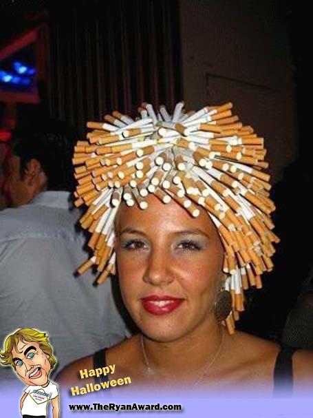 cigarette afro