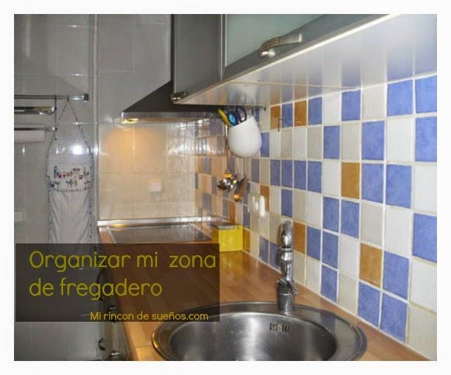 MI RINCÓN DE SUEÑOS: Como organizar el mueble del fregadero ...