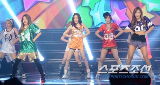 Foto T-ara di MBC Show Champion 29 Mei 2013