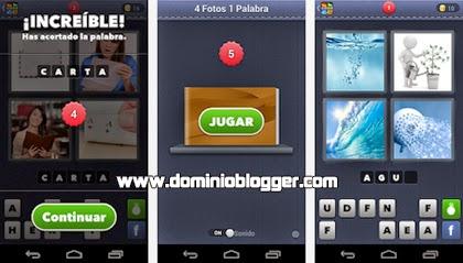 Juega 4 Fotos 1 Palabra en tu teléfono con Android