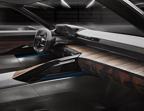 2014 New Peugeot Exalt Concept Interior Review