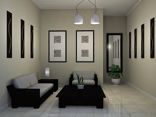 Gambar Desain Ruang Tamu Rumah Minimalis SEDERHANA PILIHAN 003