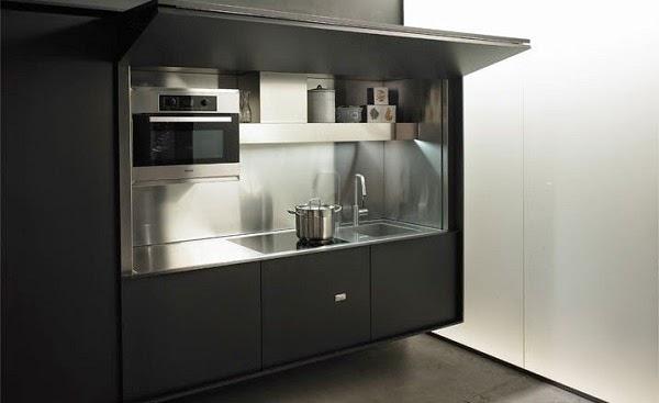 Dise os de cocinas dentro de un armario - Armarios de cocina precios ...