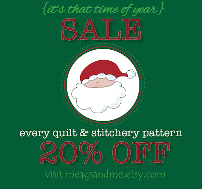 meags and me 2012 Black Friday Cyber Monday SALE