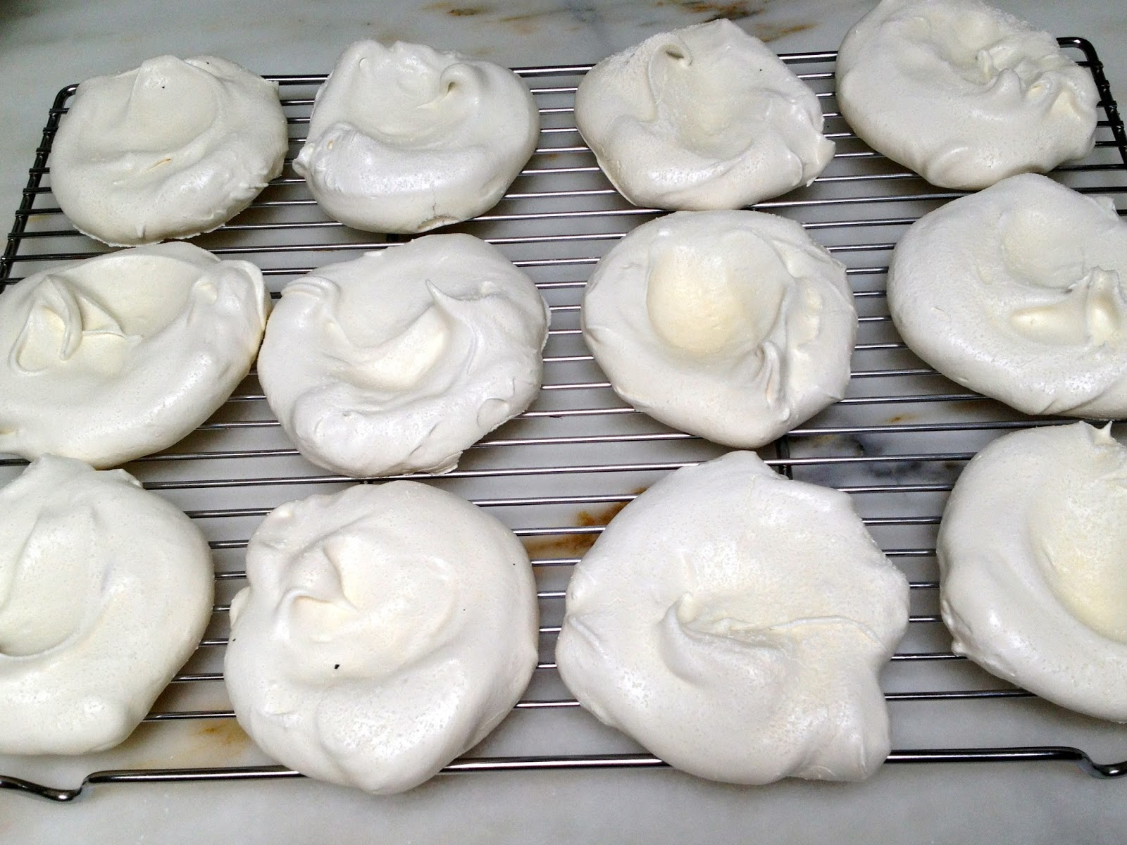 Individual Pavlovas with Mixed Berries and Whipped Cream adapted ...