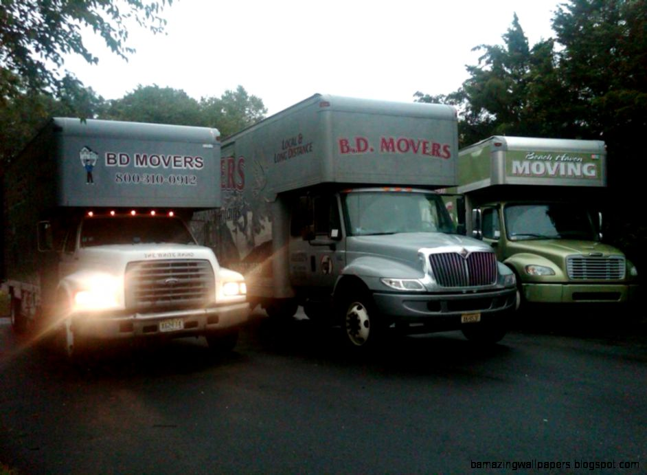 Movers and Moving Trucks