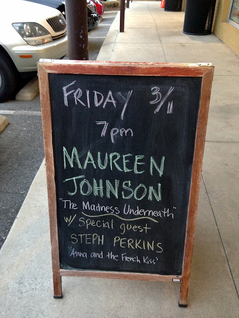 Bookstore Event With Maureen Johnson and Stephanie Perkins