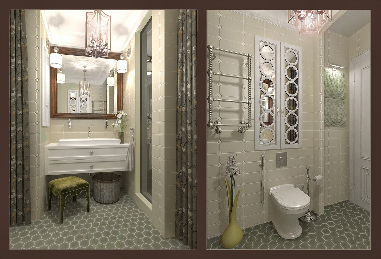 Darya girina interior design march 2015 - Interiors At Apartments At Moscow Project Of Kitchen And Dining Zone Next One Wc Including Main Wc For Owner Masculine Style And Guest Wc Wc