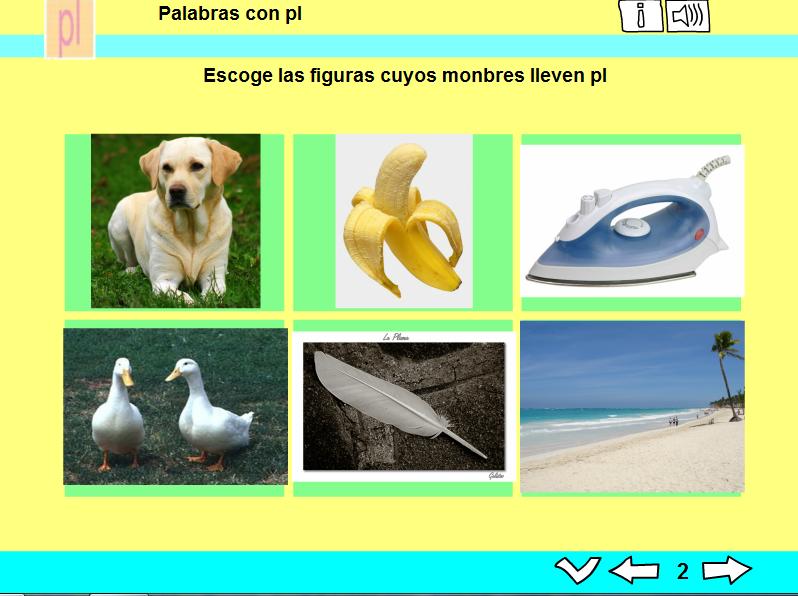PALABRAS CON /PL/