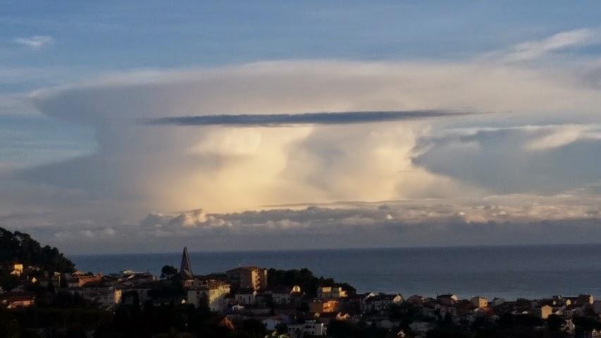 nuvole cumulonembo