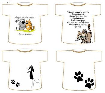 Novas camisetas da APA. Adquira já a sua e colabore com os trabalhos da Associação!