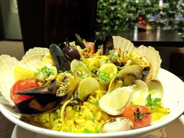 Street 50 Restaurant and Bar - Seafood Paella