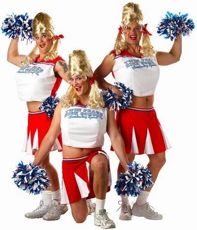 Men's Varsity Cheerleader Halloween Costume