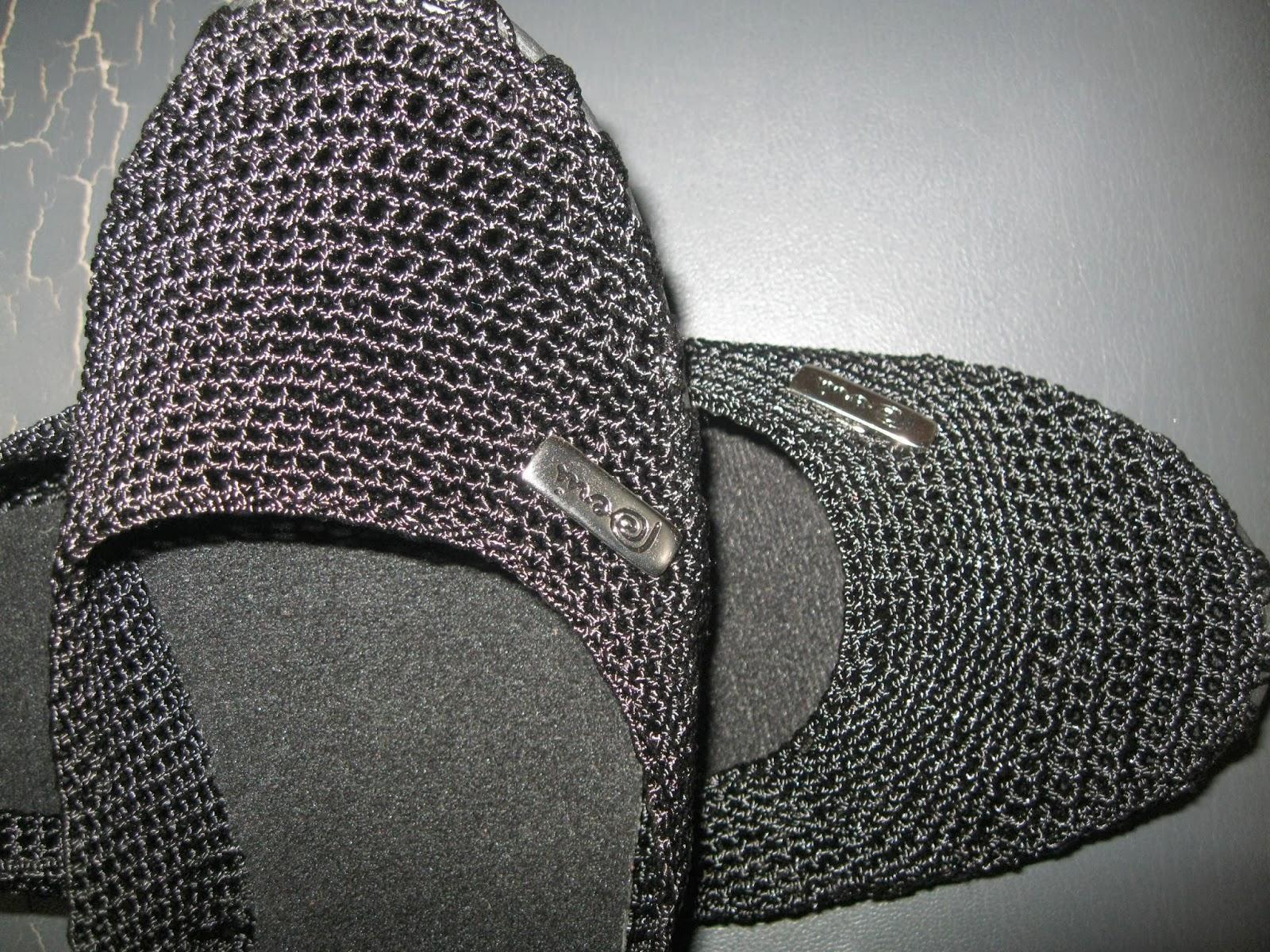 El Medio Manuales Negras Tejidos Punto Ballerinas Zapatos Con q0nOx4vHOZ
