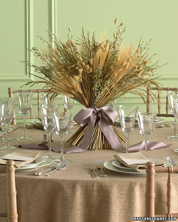 Harvest Centerpiece Table