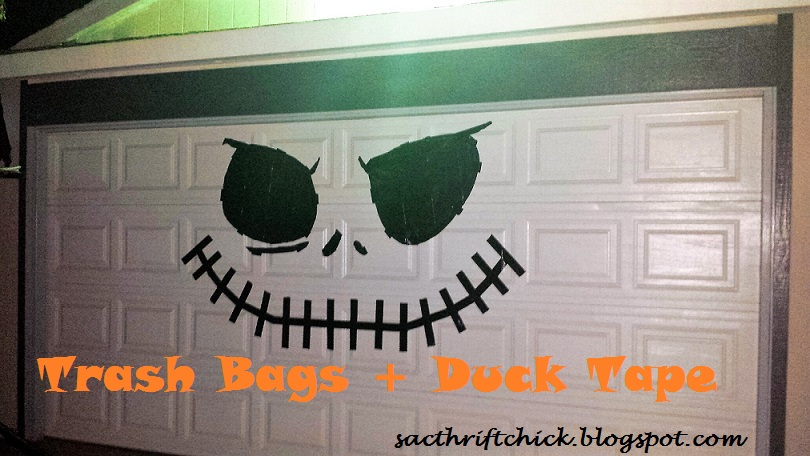 diy nightmare before christmas jack skellington garage door