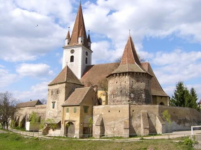 Fortified church of St. Sevastius. Cristian, Sibiu