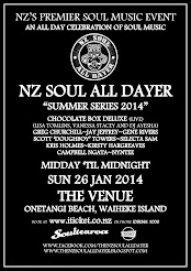 NZ Soul All Dayer Waiheke Island 2014