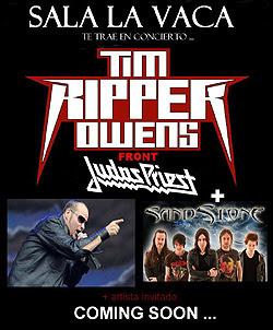 Tim Ripper Owens actuará en Ponferrada en vez de en Valladolid en octubre