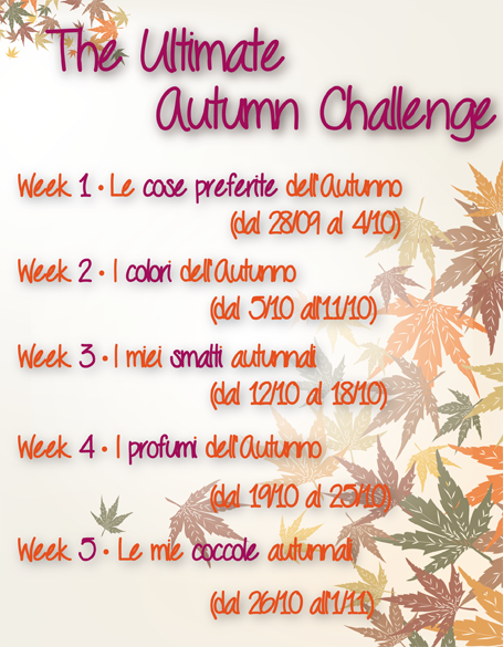 "Presentazione ""The Ultimate Autumn Challenge"""